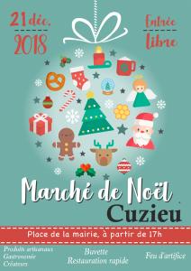 affiche marché noel 2018