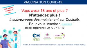 Affiche vaccination Covid-19