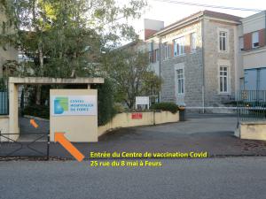 Centre de vaccination de Feurs